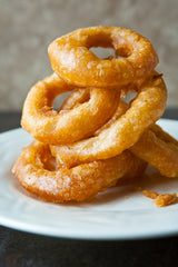 Vegan Onion Rings Super Bowl Food