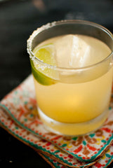 Skinny Margarita vegan super bowl food