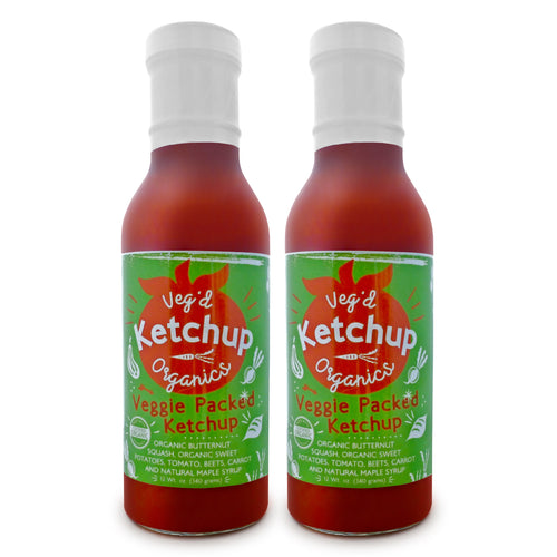 Vegan Hidden Veggies Reduced Sugar Ketchup
