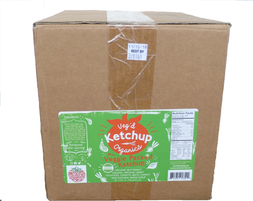 Veggie Packed Ketchup Case