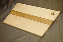"Figured Maple ""Angle-cut"" Cutting Board"