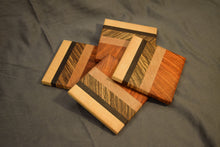 End-grain Coaster Set