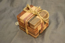Pattern End-grain Coaster Set, Set of 6