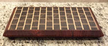 Full Endgrain Brickboard with Padauk Border