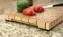 Maple & Jatoba Brickboard Butcherblock