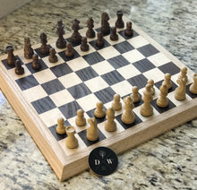 Chess Board with beveled Oak Border