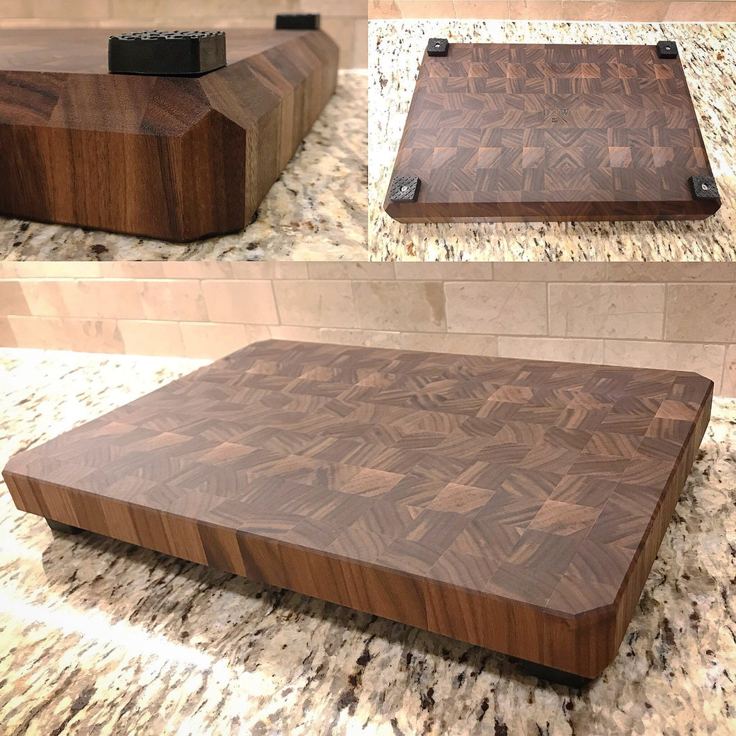 Jumbo Walnut Butcher Block