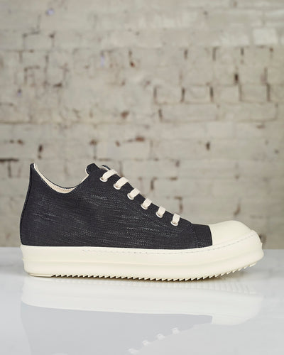 DRKSHDW Womens Larry FW19 Low Sneakers Black Denim-LESS 17