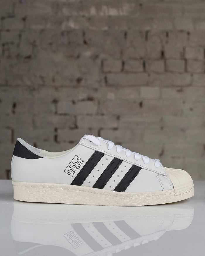Adidas Superstar 80's Recon White Black White-Shoes-Adidas-LESS 17-Lessoneseven