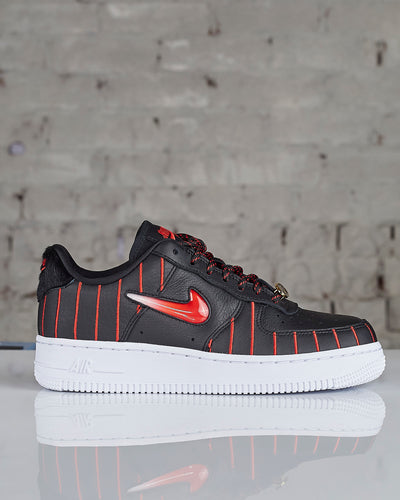 Nike W Air Force 1 Jewel QS Black/Uni Red-Black-White-LESS 17