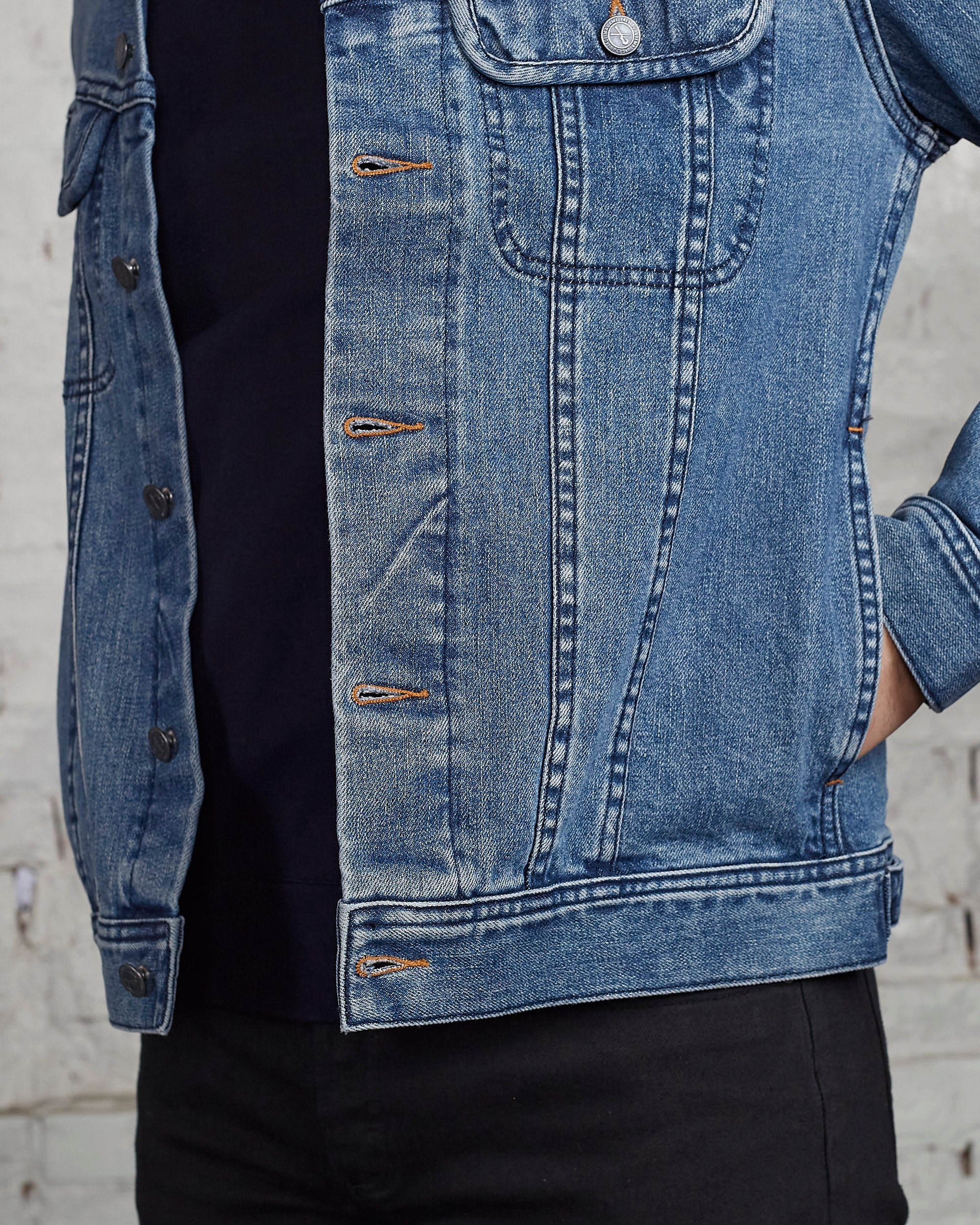 A.P.C. Veste Jean Denim Jacket Indigo-LESS 17