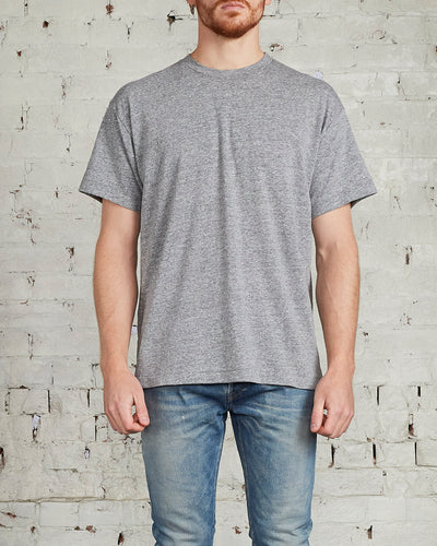 John Elliott University Short Sleeve T-Shirt Grey-LESS 17