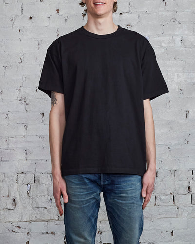 John Elliott University T-Shirt Black-LESS 17