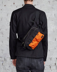 Porter Hype Waist Bag Black x Orange-LESS 17
