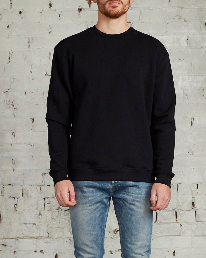John Elliott Oversized Crewneck Black