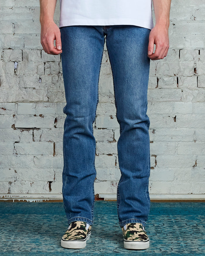 A.P.C. New Standard Stretch Delave Indigo