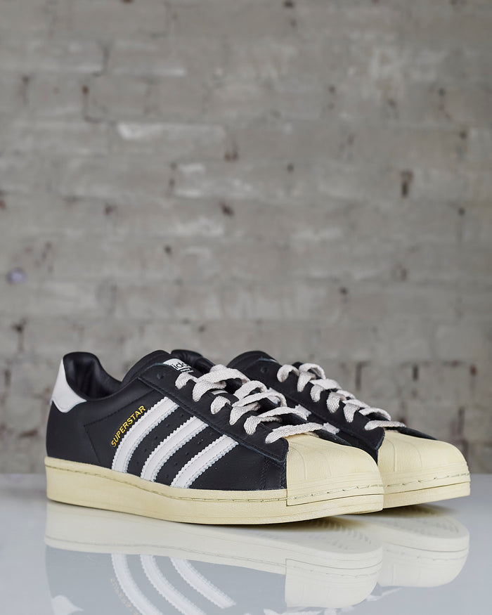 Adidas Superstar Core Black / Crystal White / Blue FV2832