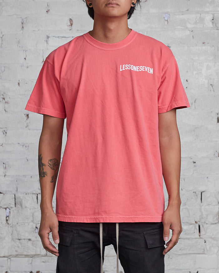 LESS17 Wavy Tee Watermelon