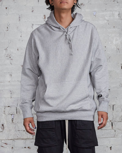 LESS17 Basis Hood Grey Heather-LESS 17
