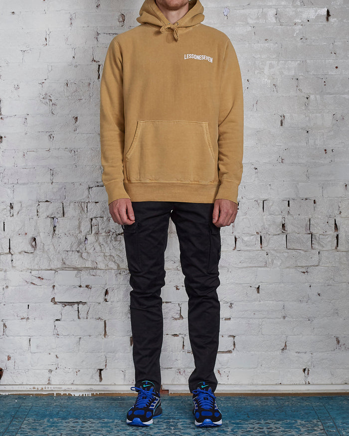 LESS17 Wavy Heavy Hoodie Gold-LESS 17