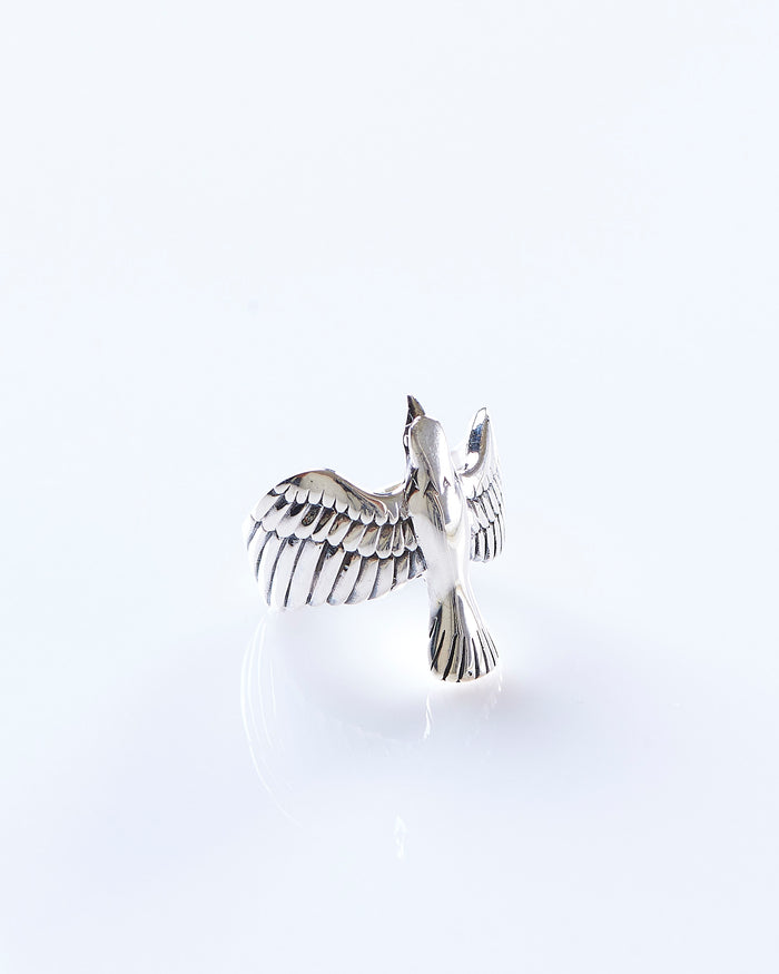 Maple Eagle Ring Silver 925