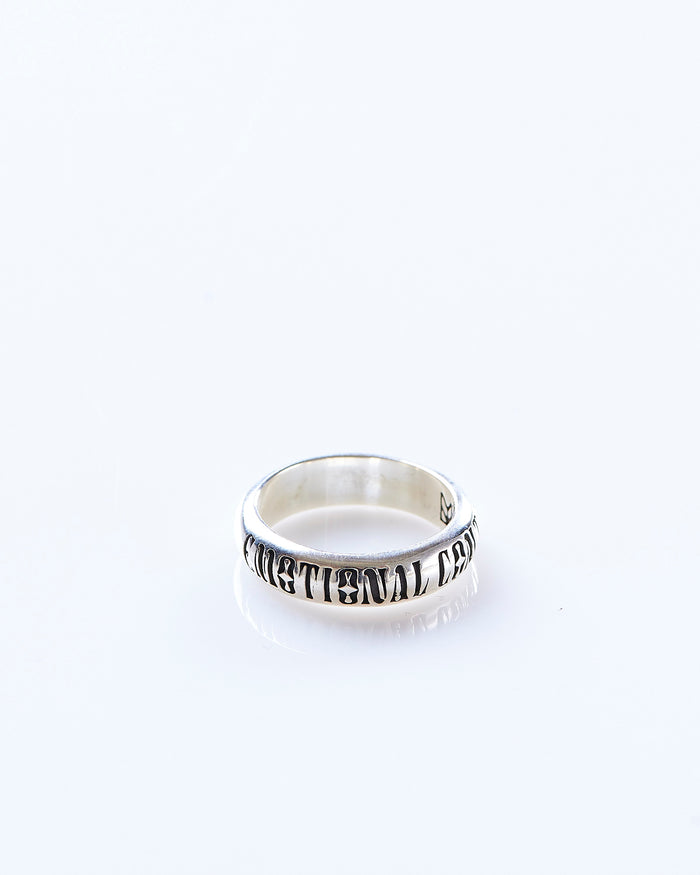 Maple Emotional Content Ring Silver 925