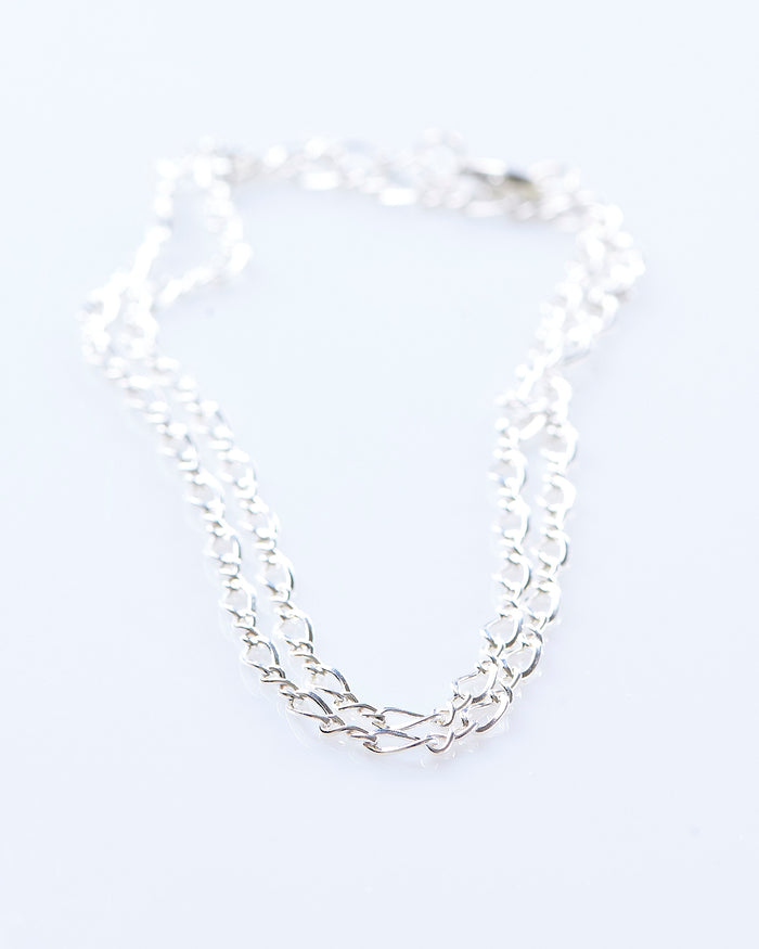 Maple Figure 8 Chain Silver 925