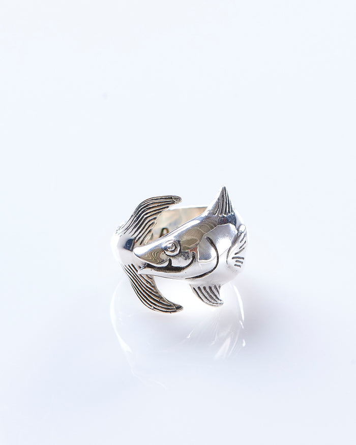 Maple Tuna Ring Silver 925