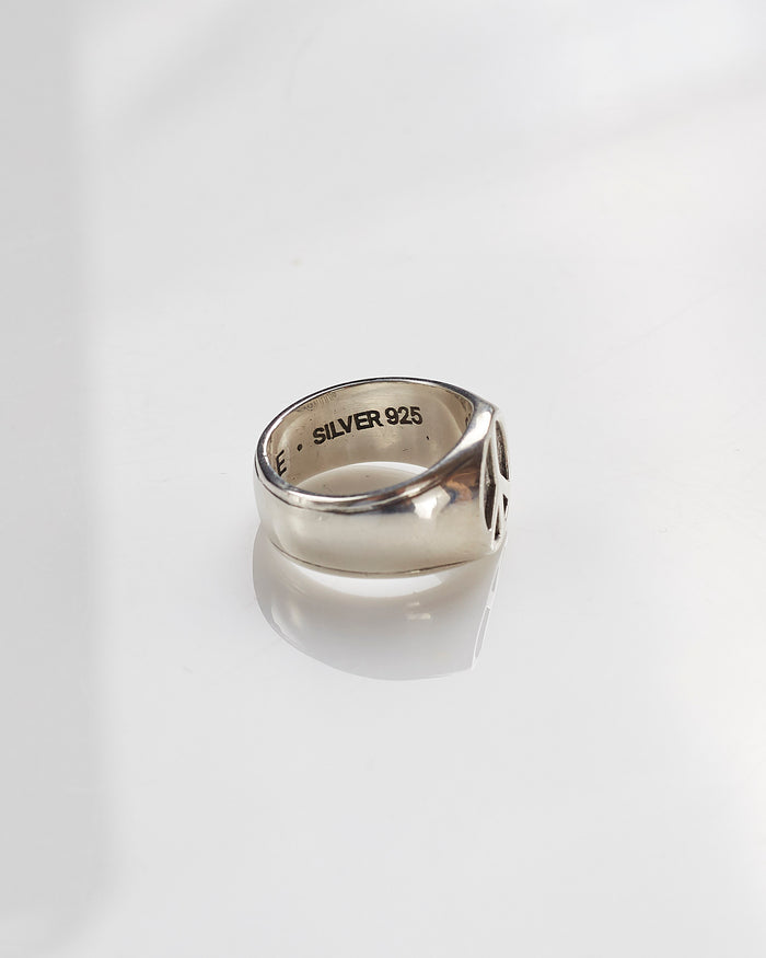 Maple Peace Ring Silver 925-LESS 17