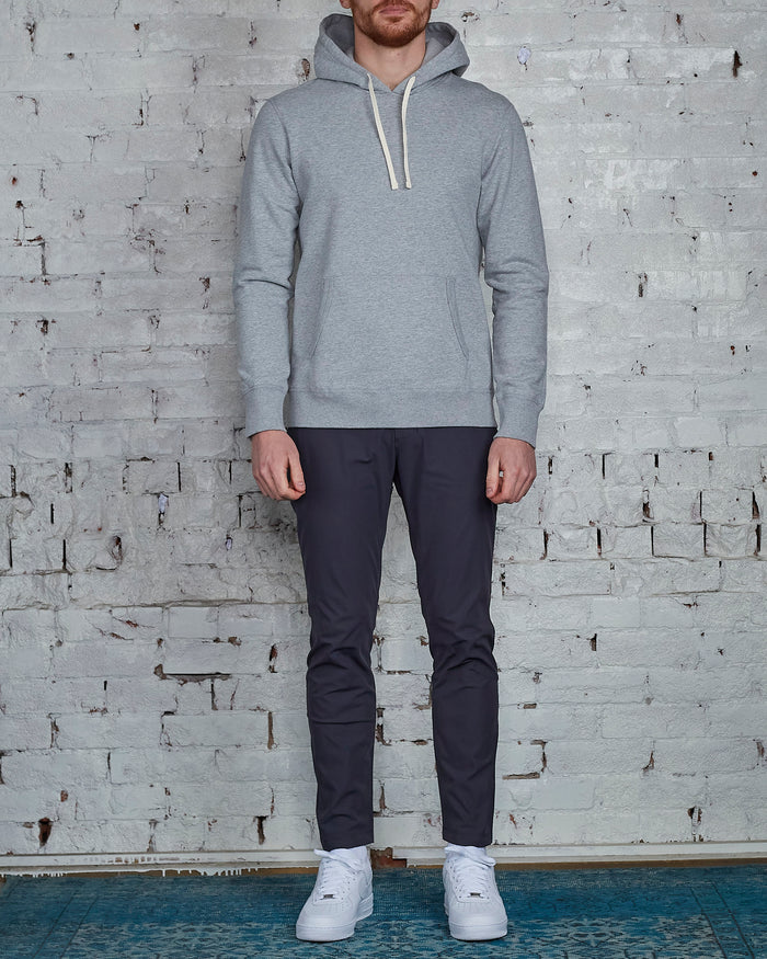 Reigning Champ Core Pullover Hood Heather Grey