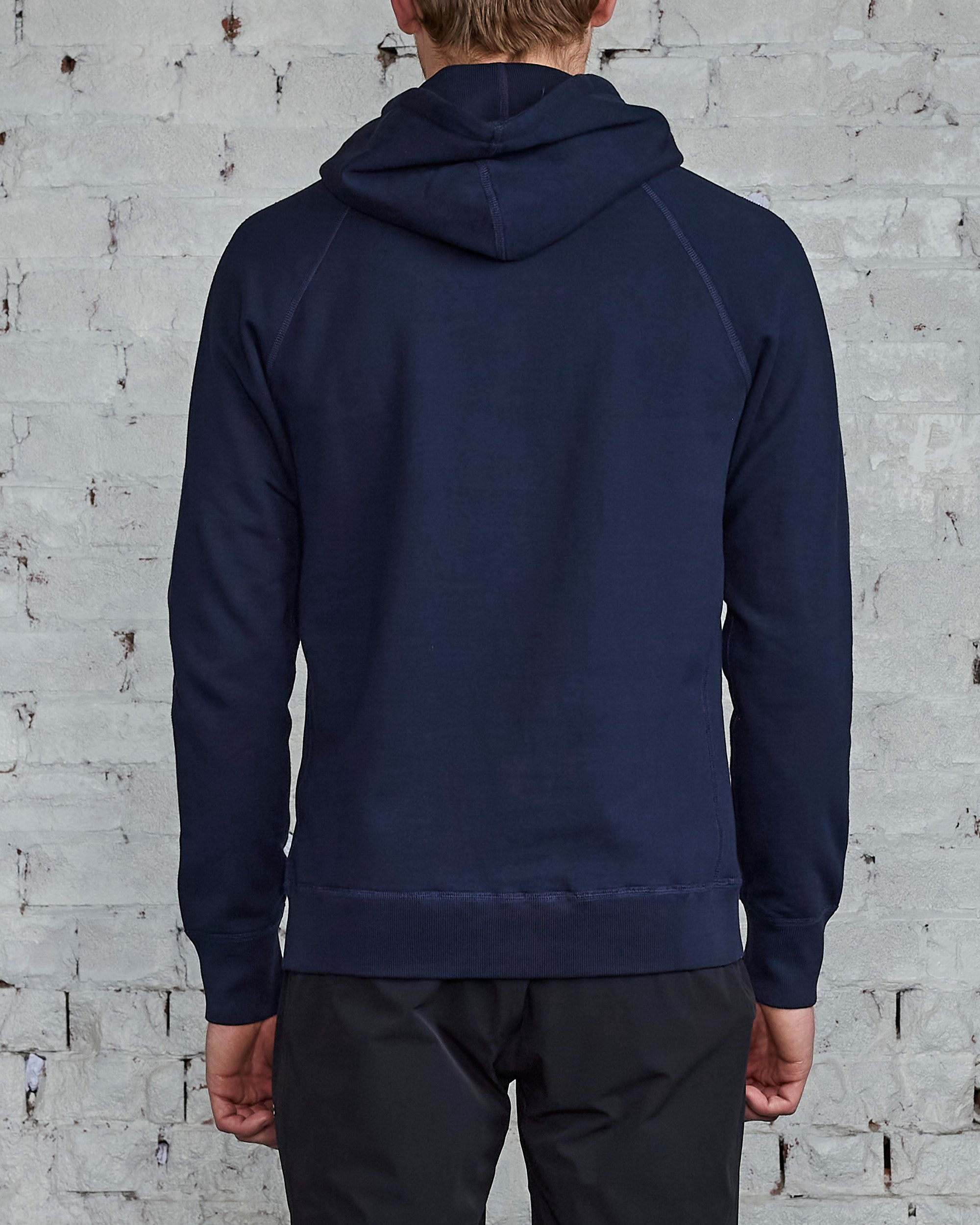 Reigning Champ Core Pullover Hood Navy