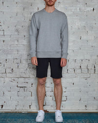 Reigning Champ Core Relaxed Crewneck Heather Grey