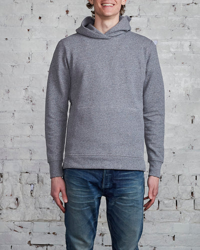 John Elliott Villain Hood Dark Grey-LESS 17