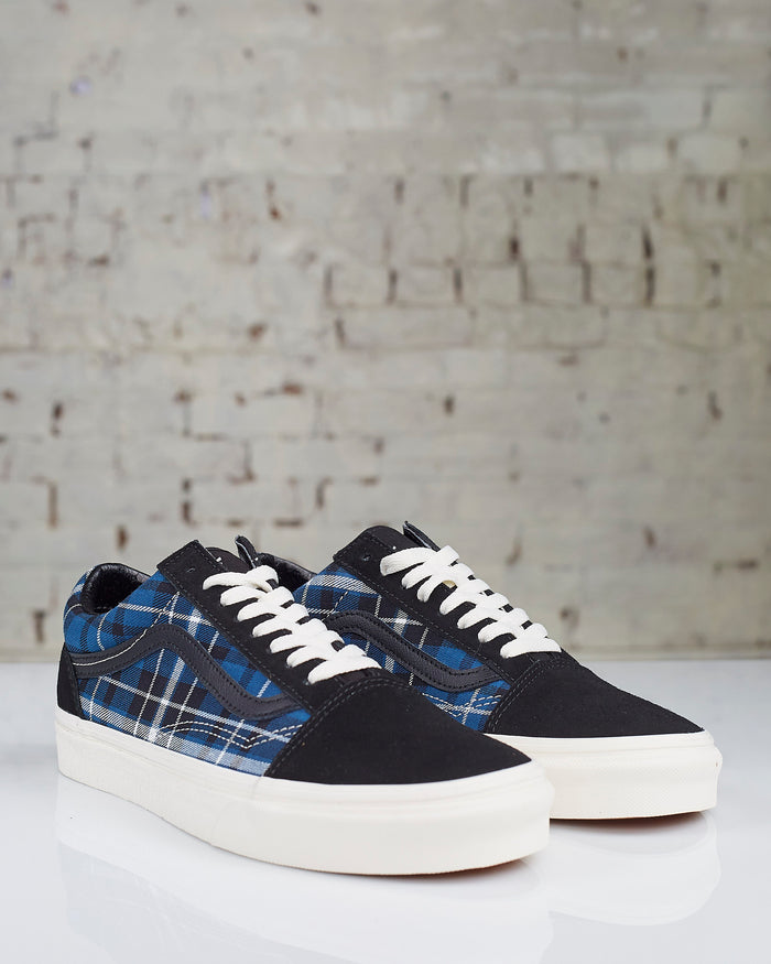 Vans Old Skool Plaid Mix Black Navy