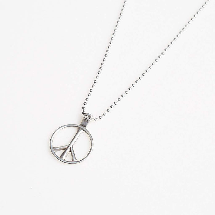 Maple Peace Pendant Silver 925