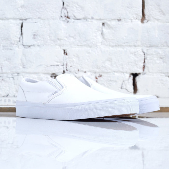 Vans Classic Slip-On Tumble True White-LESS 17