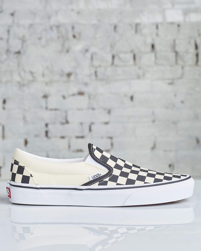 Vans Classic Slip-on Black Checkerboard-LESS 17