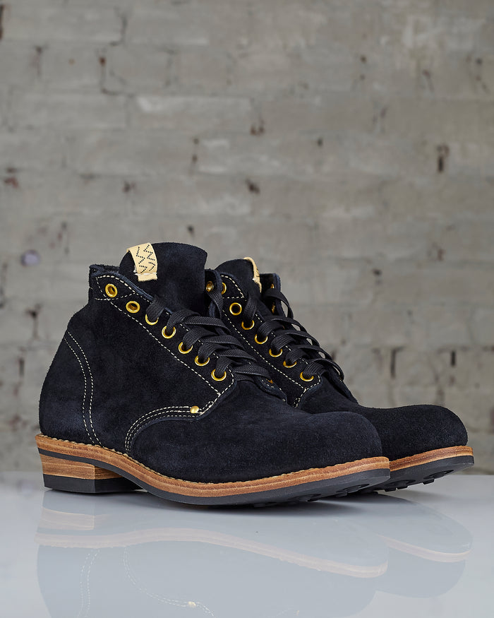 visvim Brigadier Boot Black-Folk
