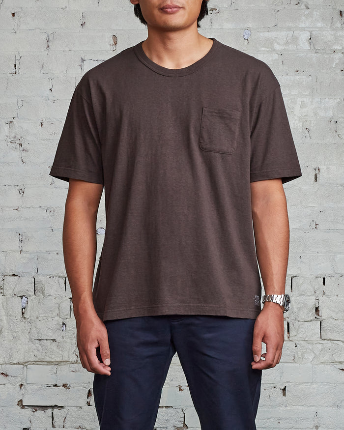 visvim Jumbo T-Shirt Stamp Charcoal