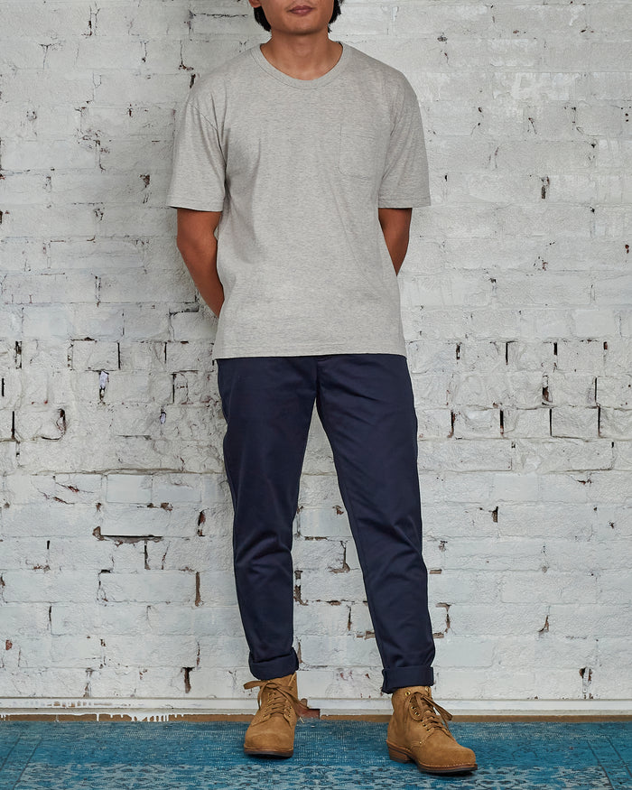 visvim Jumbo T-Shirt Stamp Grey