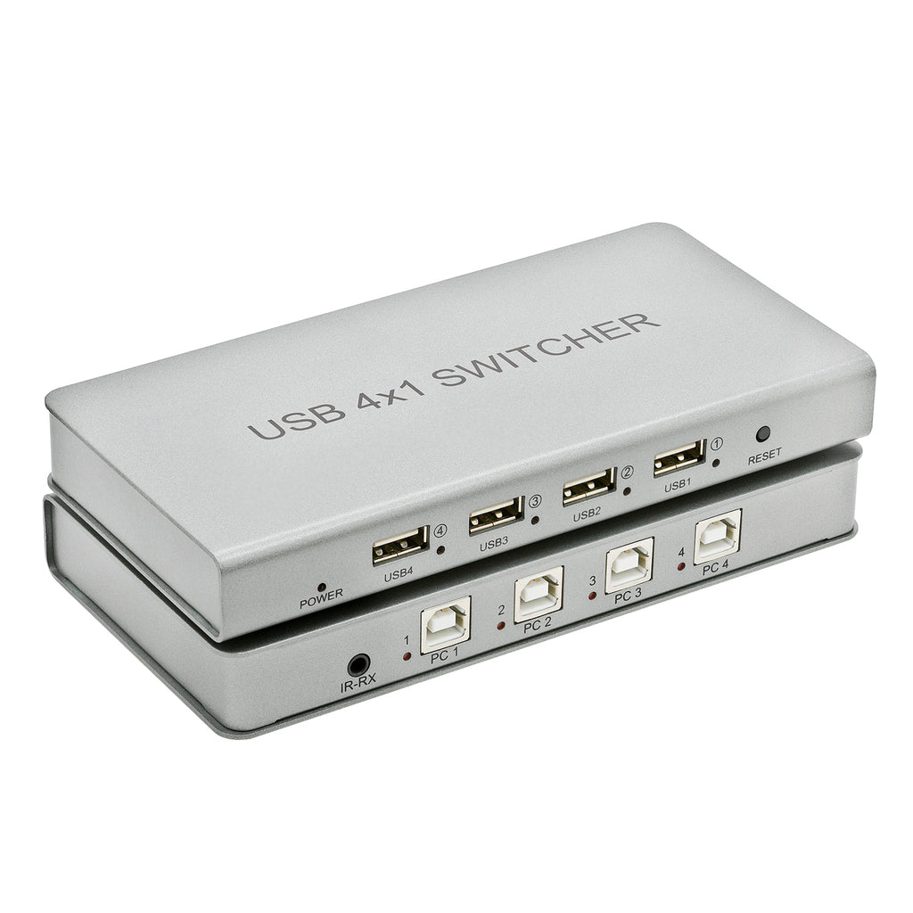 4-Channel USB Switch - Expert Connect