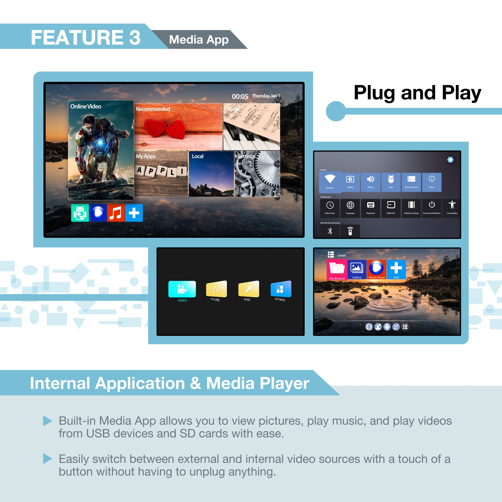 4-Channel - Media Player - Expert Connect