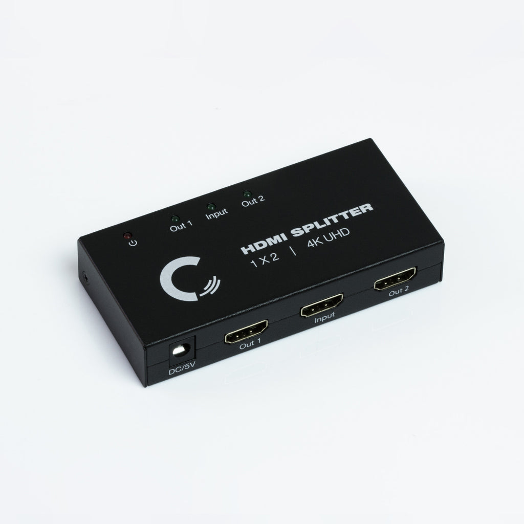 1x2 HDMI Splitter | Ultra HD 4K/2K | 1080P | 3D | HDMI 1.4 - Expert Connect