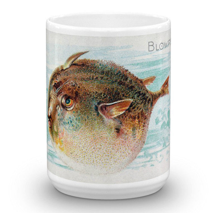 Blowfish, Fish from American Waters, Allen & Ginter, 15-Oz. Mug