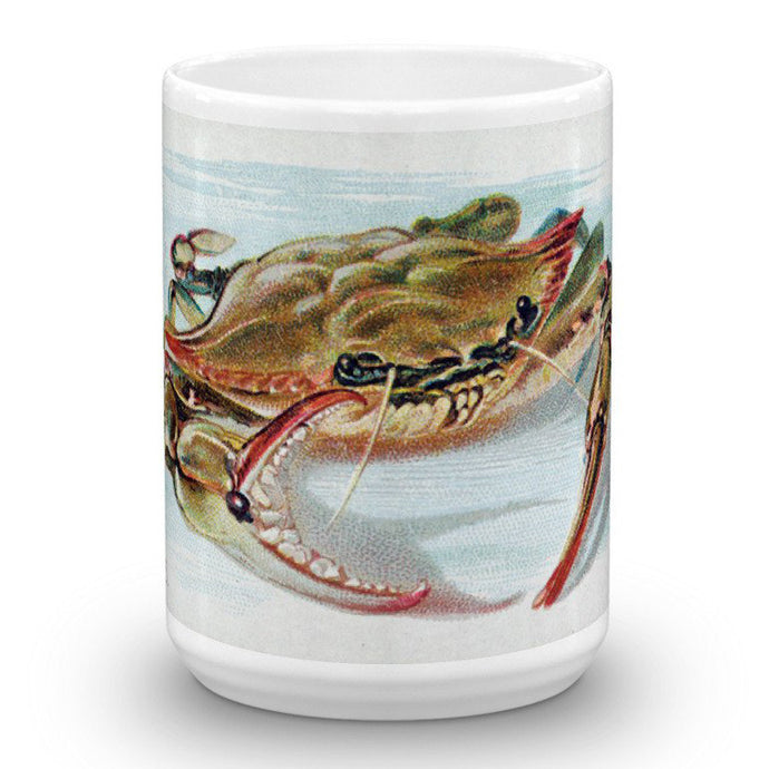 Crab, Fish from American Waters, Allen & Ginter, 15-Oz. Mug