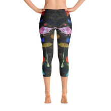 Fish Magic, Paul Klee, Capri Leggings