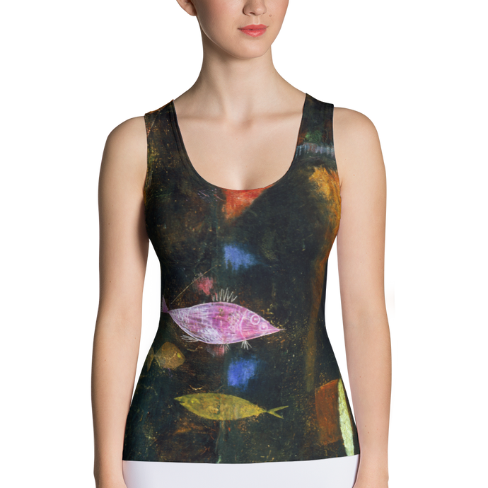 Fish Magic, Paul Klee, Tank Top