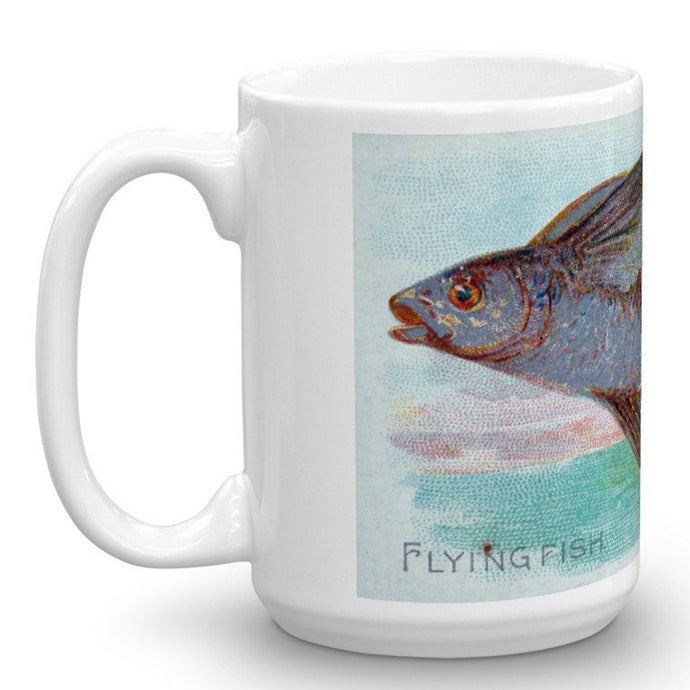 Flying Fish, Fish from American Waters, Allen & Ginter, 15-Oz. Mug