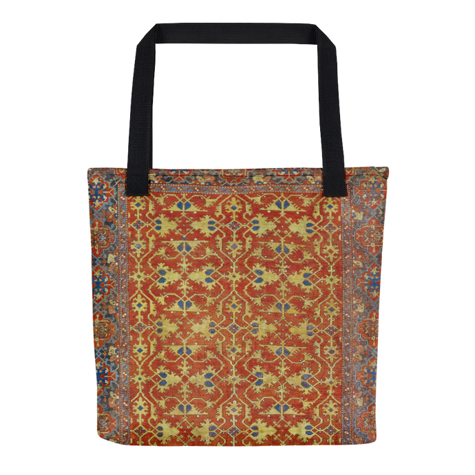 Lotto Carpet, Tote Bag