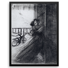 Love, Paul-Albert Besnard, Framed Poster